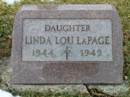 LA PAGE, LINDA LOU - Dubuque County, Iowa   LINDA LOU LA PAGE