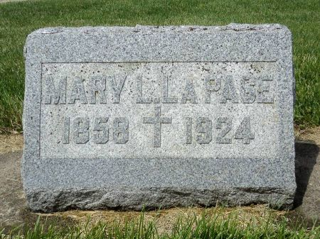LAPAGE, MARY L. - Dubuque County, Iowa | MARY L. LAPAGE