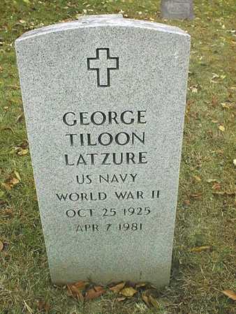 LATZURE, GEORGE TILOON - Dubuque County, Iowa | GEORGE TILOON LATZURE