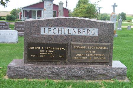 LECHTENBERG, ANNABEL - Dubuque County, Iowa | ANNABEL LECHTENBERG