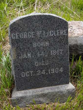 LECLERE, GEORGE F. - Dubuque County, Iowa | GEORGE F. LECLERE