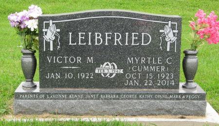 CUMMER LEIBFRIED, MYRTLE C. - Dubuque County, Iowa   MYRTLE C. CUMMER LEIBFRIED