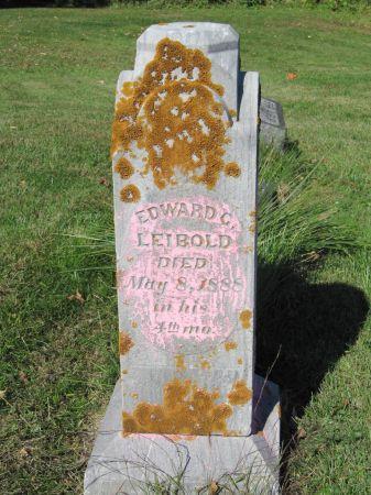 LEIBOLD, EDWARD C. - Dubuque County, Iowa | EDWARD C. LEIBOLD