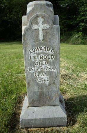 LEIBOLD, EDWARD G. - Dubuque County, Iowa | EDWARD G. LEIBOLD