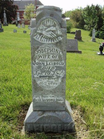 LEIBOLD, JOSEPHINE - Dubuque County, Iowa | JOSEPHINE LEIBOLD
