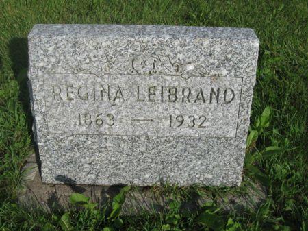 LEIBRAND, REGINA - Dubuque County, Iowa | REGINA LEIBRAND