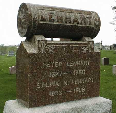 LENHART, SALINA M. - Dubuque County, Iowa | SALINA M. LENHART