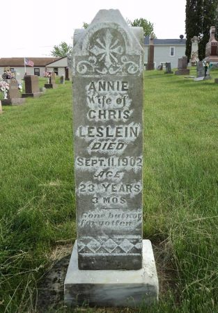 LESLEIN, ANNIE - Dubuque County, Iowa   ANNIE LESLEIN