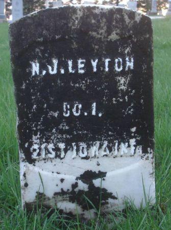 LEYTON, N. J. - Dubuque County, Iowa | N. J. LEYTON