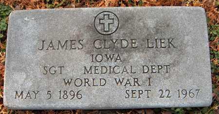 LIEK, JAMES CLYDE - Dubuque County, Iowa | JAMES CLYDE LIEK
