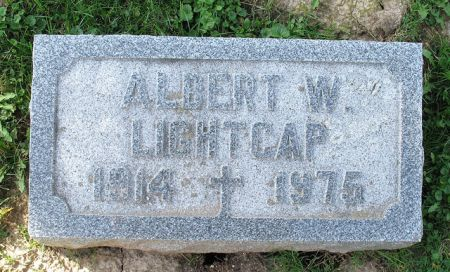 LIGHTCAP, ALBERT W - Dubuque County, Iowa   ALBERT W LIGHTCAP