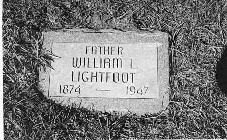 LIGHTFOOT, WILLIAM LAFAYETTE - Dubuque County, Iowa | WILLIAM LAFAYETTE LIGHTFOOT