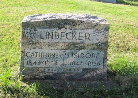 LINDECKER, CATHERINE - Dubuque County, Iowa | CATHERINE LINDECKER