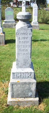 LINK, GEORGE W. - Dubuque County, Iowa   GEORGE W. LINK