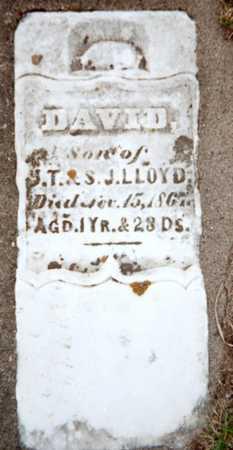 LLOYD, DAVID - Dubuque County, Iowa | DAVID LLOYD