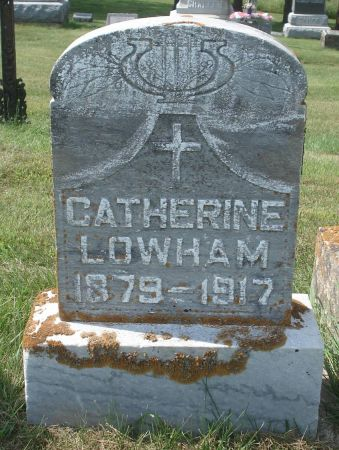 LOWHAM, CATHERINE - Dubuque County, Iowa | CATHERINE LOWHAM