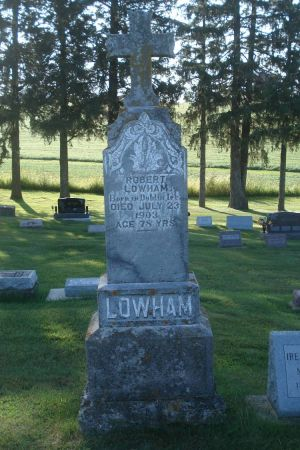 LOWHAM, ROBERT - Dubuque County, Iowa | ROBERT LOWHAM
