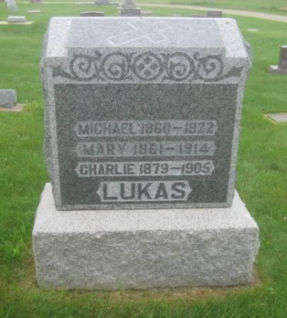LUKAS, CHARLIE - Dubuque County, Iowa   CHARLIE LUKAS