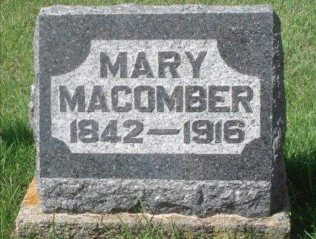 MACOMBER, MARY - Dubuque County, Iowa   MARY MACOMBER