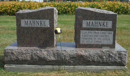 MAHNKE, CLO ANN - Dubuque County, Iowa   CLO ANN MAHNKE