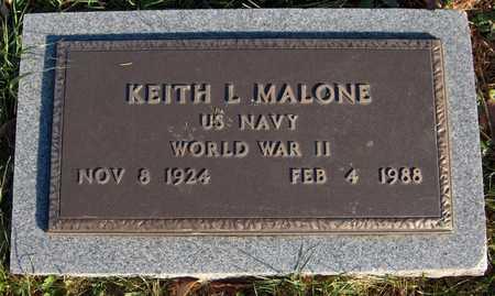 MALONE, KEITH L. - Dubuque County, Iowa   KEITH L. MALONE
