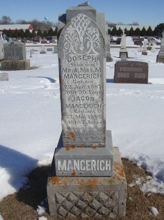 MANGERICH, JACOB - Dubuque County, Iowa | JACOB MANGERICH