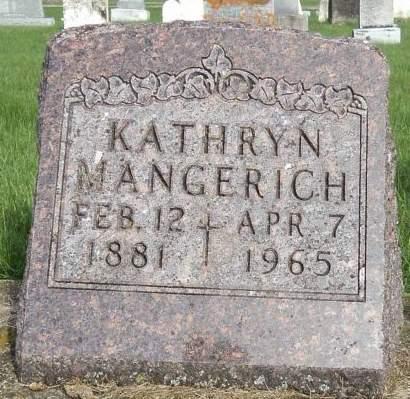 MANGERICH, KATHRYN - Dubuque County, Iowa | KATHRYN MANGERICH