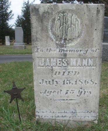 MANN, JAMES - Dubuque County, Iowa   JAMES MANN