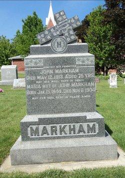 MARKHAM, JOHN - Dubuque County, Iowa | JOHN MARKHAM
