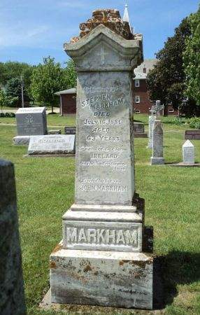 MARKHAM, STEPHEN - Dubuque County, Iowa   STEPHEN MARKHAM