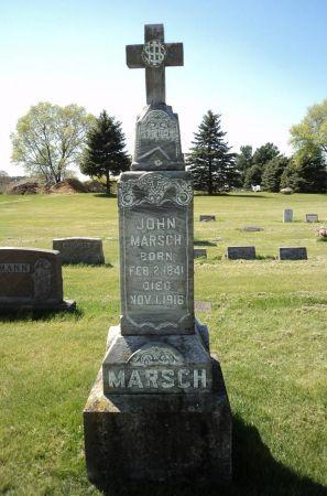 MARSCH, JOHN - Dubuque County, Iowa | JOHN MARSCH