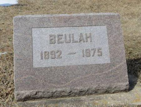MARTENSEN, BEULAH - Dubuque County, Iowa   BEULAH MARTENSEN