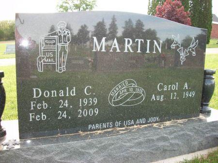 MARTIN, DONALD C. - Dubuque County, Iowa | DONALD C. MARTIN