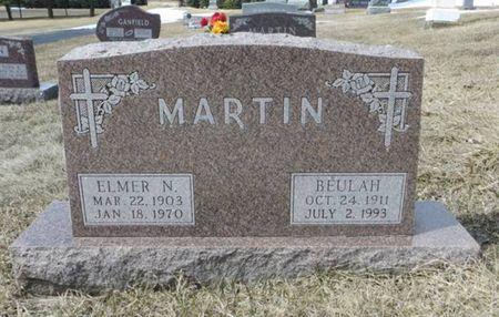 MARTIN, ELMER N. - Dubuque County, Iowa | ELMER N. MARTIN