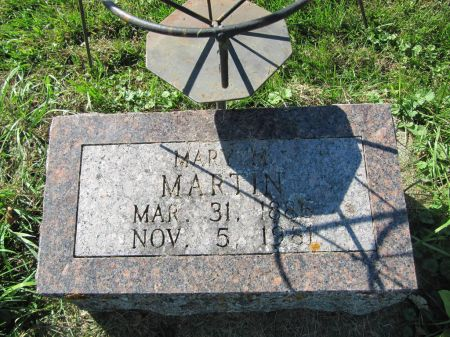 MARTIN, MARY M. - Dubuque County, Iowa | MARY M. MARTIN