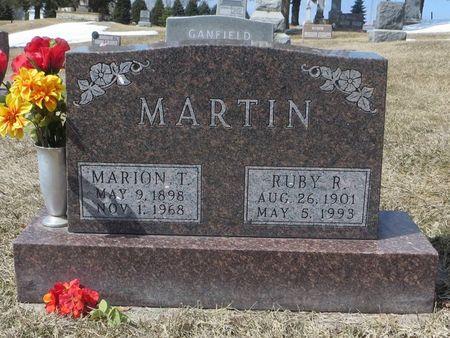 MARTIN, MARION T. - Dubuque County, Iowa | MARION T. MARTIN