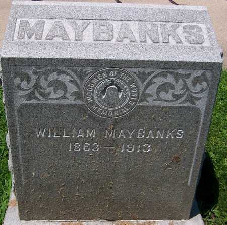 MAYBANKS, WILLIAM - Dubuque County, Iowa | WILLIAM MAYBANKS