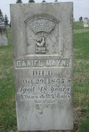MAYN, DANIEL - Dubuque County, Iowa | DANIEL MAYN