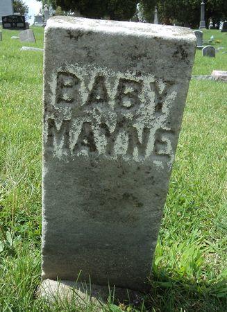 MAYNE, BABY - Dubuque County, Iowa | BABY MAYNE