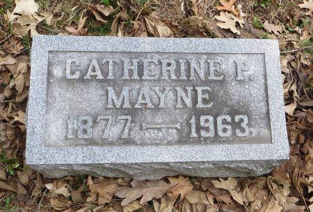 MAYNE, CATHERINE P. - Dubuque County, Iowa | CATHERINE P. MAYNE