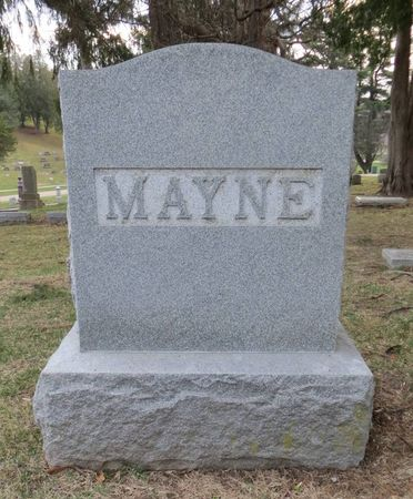 MAYNE, FAMILY MONUMENT - Dubuque County, Iowa | FAMILY MONUMENT MAYNE