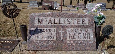 MCALLISTER, MARY M. - Dubuque County, Iowa | MARY M. MCALLISTER