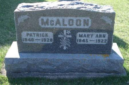 MCALOON, PATRICK - Dubuque County, Iowa | PATRICK MCALOON