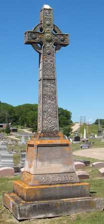 MCCABE, FAMILY MONUMENT - Dubuque County, Iowa | FAMILY MONUMENT MCCABE