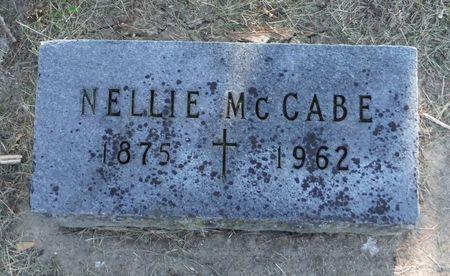 MCCABE, NELLIE - Dubuque County, Iowa   NELLIE MCCABE