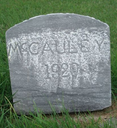 MCCAULEY, WILLIAM - Dubuque County, Iowa | WILLIAM MCCAULEY