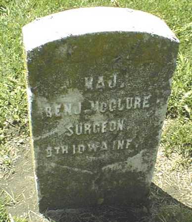 MCCLUER, BENJAMIN - Dubuque County, Iowa | BENJAMIN MCCLUER