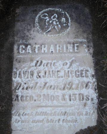 MCGEE, CATHARINE - Dubuque County, Iowa | CATHARINE MCGEE