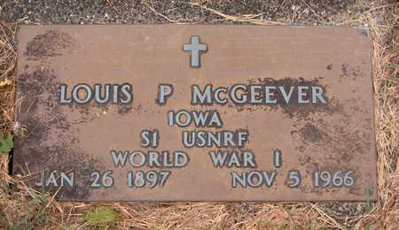 MCGEEVER, LOUIS P. - Dubuque County, Iowa | LOUIS P. MCGEEVER