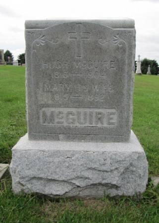 MCGUIRE, MARY - Dubuque County, Iowa   MARY MCGUIRE